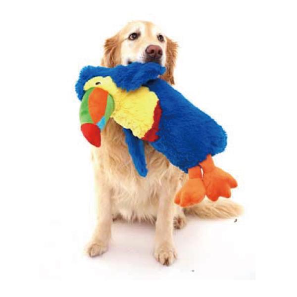 犬のおもちゃ DOGGLES Blue Toucan ブルー トゥーカン / オオハシ