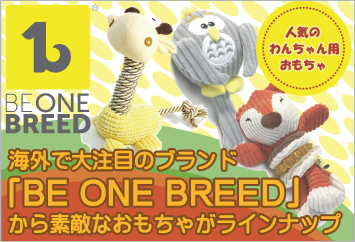 海外で大注目のブランド BE ONE BREED おもちゃ ぬいぐるみ バナー