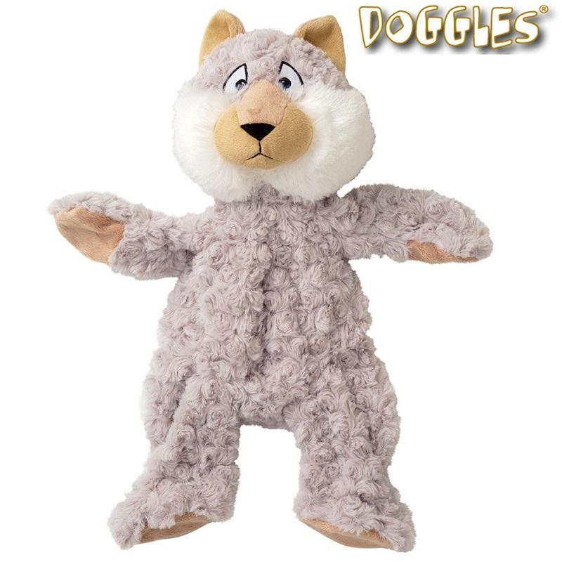犬のおもちゃ DOGGLES マウンテンラスカル コヨーテ Coyote